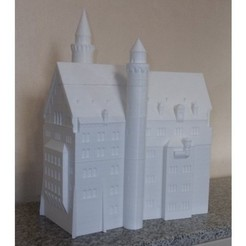 Free 3D printer files Neuschwanstein Castle 44 pieces, Burki2512