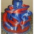 Free 3D printer designs 3D Marble-Maschine, Burki2512
