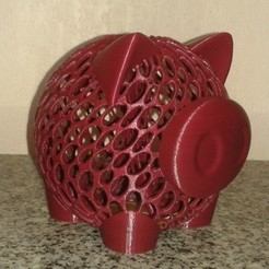 Free STL file Money Pig Coin Bank, Burki2512