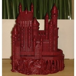 a3b145b87cff0214146d924a1f90da5e_preview_featured.jpg Download STL file Medieval Castle • 3D printable model, Burki2512