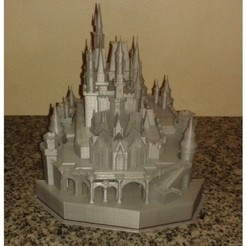 Download free 3D printing templates Disney Castle, Burki2512