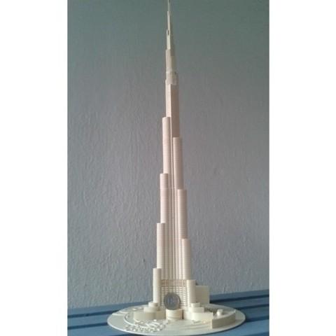 e79992615708c02e977200790dac8524_preview_featured.jpg Download free STL file Burj Khalifa • 3D printable model, Burki2512