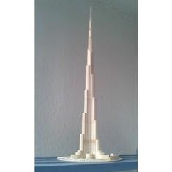 Free stl files Burj Khalifa, Burki2512