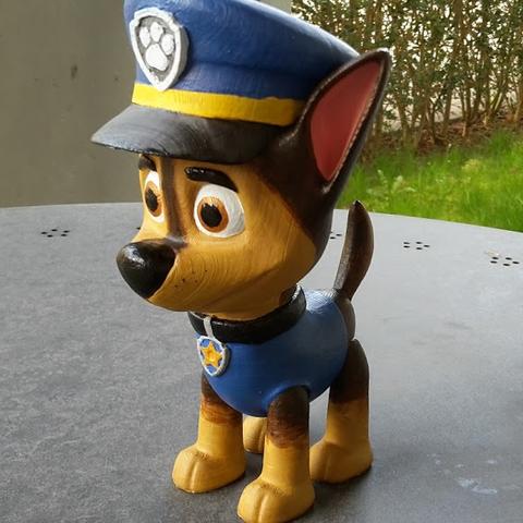 3D printer Chase (Paw Patrol) ・ Cults 28e498404d68