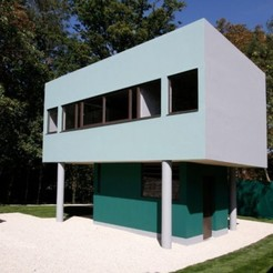 Download 3D print files Guardian's House Villa Savoye- Le Corbusier, jeanlouis-principaud