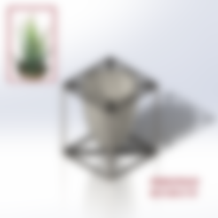 Download free 3D printing designs FLOWER POT N°3/ FLOWER POT N°3, jeanlouis-principaud