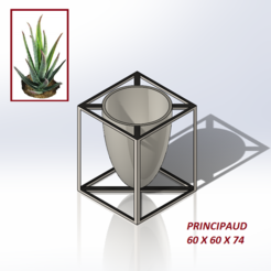 Download free 3D printing designs FLOWER POT N°3/ FLOWER POT N°3, jeanlouis-principaud