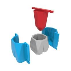 Download 3D model Concrete Pot Mould (Model 1), Joaqerr