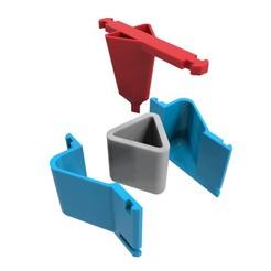 Download 3D printing models Concrete Pot Mould (Model 12), Joaqerr