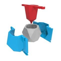 Download 3D printer model Concrete Pot Mould (Model 3), Joaqerr