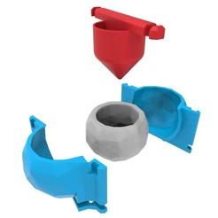 Download 3D printer designs Concrete Pot Mould (Model 8), Joaqerr