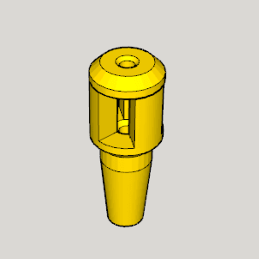 Download free STL files Hookah Ventilation Valve, Imura_Industry