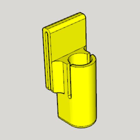 Free STL file 25㎜ Pepper Spray Holder, Imura_Works_FR