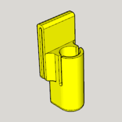 Free STL file 25㎜ Pepper Spray Holder, Imura_Works_FR