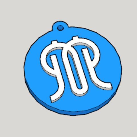 Télécharger fichier impression 3D gratuit JAPAN Kanagawa Emblème Kanagawa Porte-clés porte-clés, Imura_Industry
