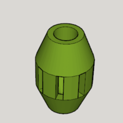 Download free STL file Cat Toy Food Barrel • Model to 3D print, Imura_Industries
