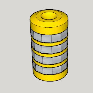 Original Cryptex.png Download free STL file Original Cryptex • Model to 3D print, Imura_Industries