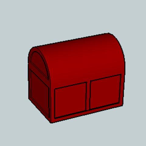Free 3d printer files Treasure Box, Imura_Works_FR