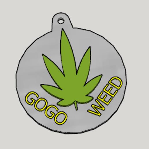 Download free STL Weed Propaganda Key Holder, Imura_Industry