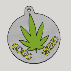 Download free STL Weed Propaganda Key Holder, Imura_Industry