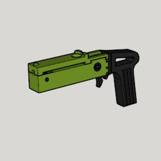 Télécharger fichier STL gratuit Pistolet à fronde Firefly MkⅠ • Design pour imprimante 3D, Imura_Industries