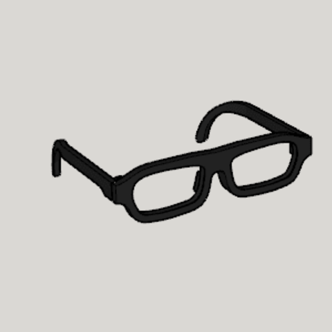 Download free 3D print files Frame Reinforced Glasses, Imura_Industry