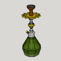 Download free 3D printer files Elf Style Hookah, Imura_Industry