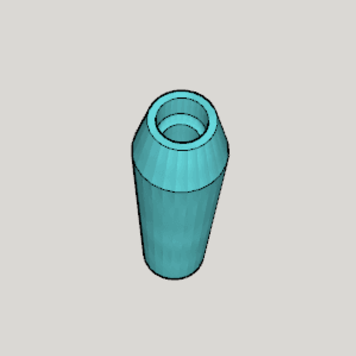 Hookah Mouthpiece Type A (Corresponding Size Middle Mini).png Download free STL file Hookah Mouthpiece Type A (Corresponding Size Middle Mini) • 3D print design, Imura_Industries