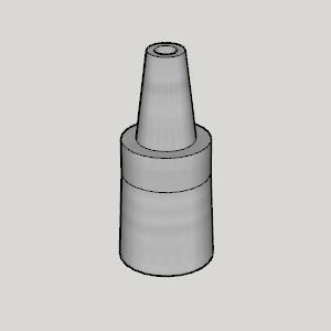 MYA Large Size Hookah Conversion Joint for Washable Hose.png Télécharger fichier STL gratuit MYA Joint de conversion à crochet de grande taille pour tuyau lavable • Objet à imprimer en 3D, Imura_Industries
