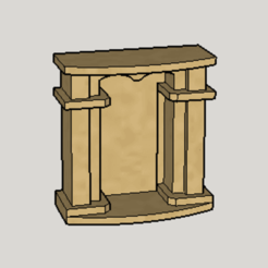 Download free STL files Classic Mantel Piece, Imura_Industry