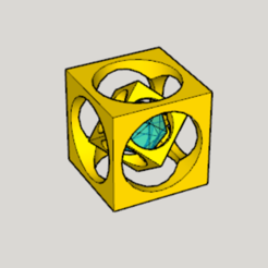 Free 3D printer files Mini Magical Square, Imura_Works_FR