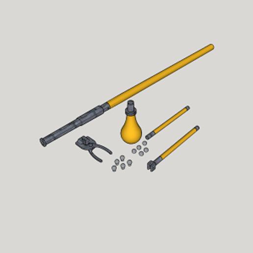 Download free 3D printer templates Replica Tannenberg Gun (3D Print Kit Toy Gun), Imura_Industry