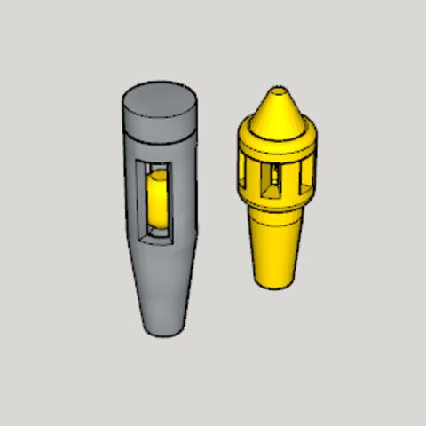 Download free 3D printing files Hookah Exhaust Valve SET, Imura_Industry