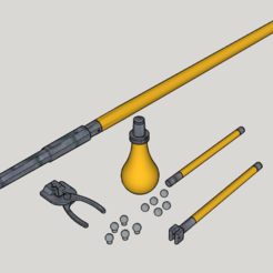 Free STL Replica Tannenberg Gun (3D Print Kit Toy Gun), Imura_Works_FR