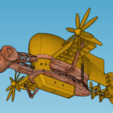 Download free 3D printer model Castle in The Sky Tiger Moth, Imura_Industry_FR
