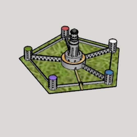 Modèle 3D gratuit Zero no Tsukaima Torisutein Magic School, Imura_Industry_FR