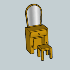 Download free 3D printing templates Classic Dresser, Imura_Industry_FR