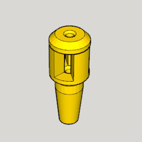 Free STL file Hookah Ventilation Valve, Imura_Works_FR