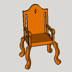 Download free 3D printer designs Classic Chair, Imura_Industry