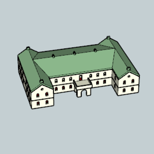Download free 3D printing models British Manor House, Imura_Industry