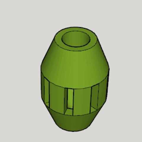 Download free 3D printer files Cat Toy Food Barrel, Imura_Industry