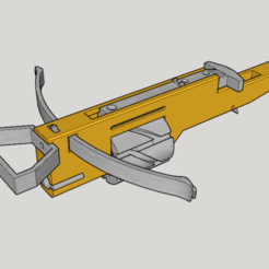 Download free STL file Zig Zag Revolver Cross Bow V1.0 (3D Print Kit Bow), Imura_Industry