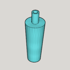Download free 3D printer designs Hookah Mouthpiece Type A (Corresponding Size Middle Large), Imura_Industry