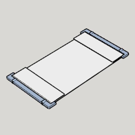 Télécharger fichier imprimante 3D gratuit COVID-19 contre-mesure simple type masque imprimable en 3D, Imura_Industry