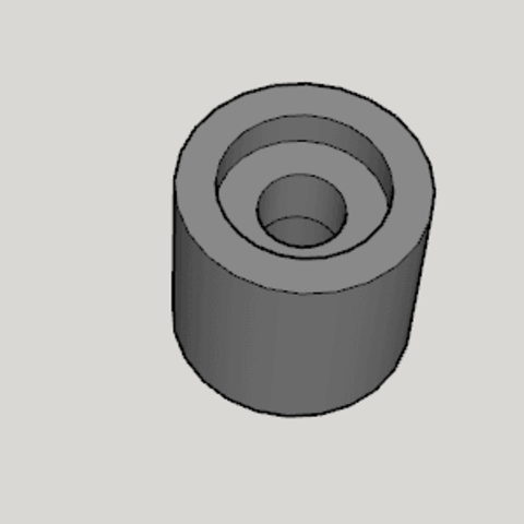 TAMIYA Micro Hammer Replacement Head.png Download free STL file TAMIYA Micro Hammer Replacement Head • 3D print object, Imura_Industries