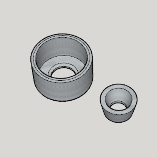 Télécharger fichier 3D gratuit Cendrier égyptien Hookah - Douille de fixation pour cendrier, Imura_Industry
