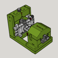 Download free 3D printer designs Original CNC 5Axes Mill, Imura_Industry