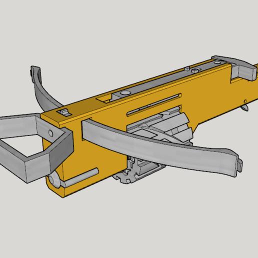 Zig Zag Revolver Cross Bow V2.0 (3D Print Kit Bow).png Download free STL file Zig Zag Revolver Cross Bow V2.0 (3D Print Kit Bow) • Template to 3D print, Imura_Industries