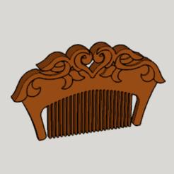 Download free 3D printer designs Tales of Berseria Comb of Velvet, Imura_Industry