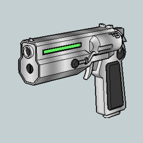 Free 3D model Star Ocean EX Phase Gun, Imura_Works_FR